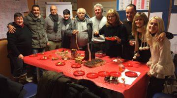 Serata degli auguri natalizi ai corsi di Croato